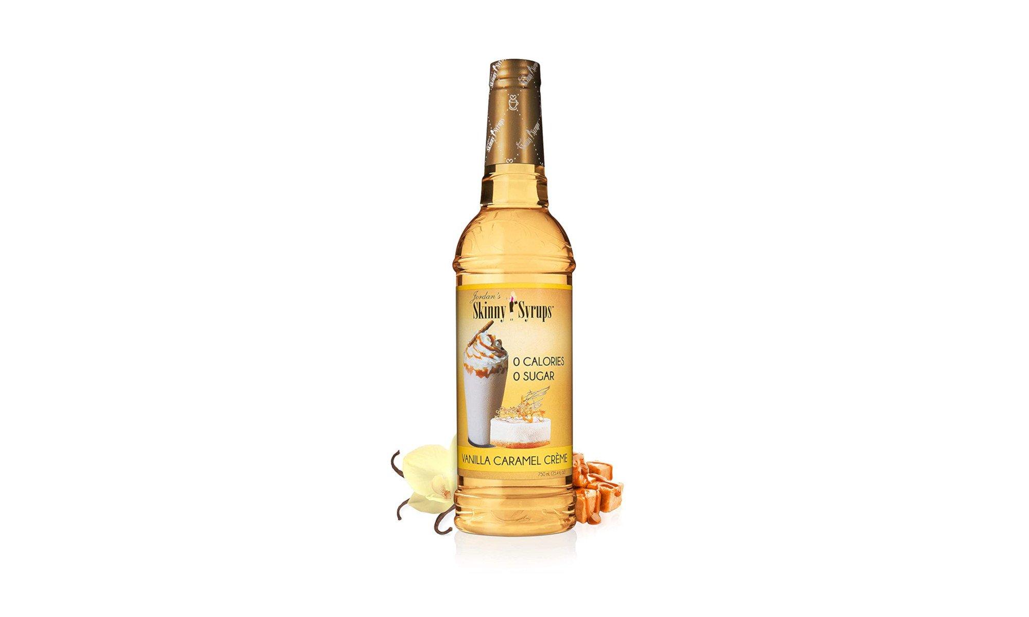 Jordan's Skinny Syrups Vanilla Caramel Crème